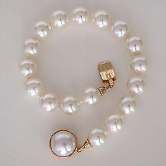 Clic 8mm Single Strand Pearl Bracelet By Majorica Jewelry A Bridal Every