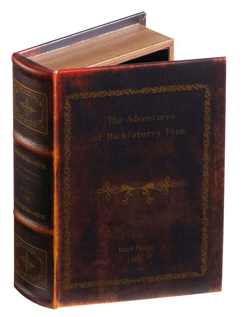Aufbewahrungsbuch Huckleberry Finn