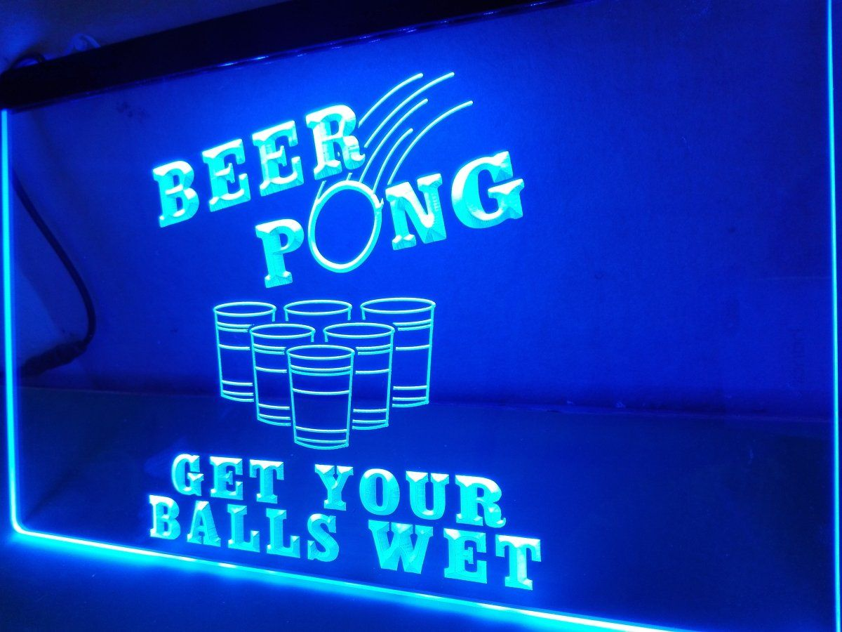 Led Sign Home Decor Delectable Get Your Balls Wet Led Neon Light Sign  Products  Pinterest 2018