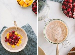 Creamy, Dreamy Chia Pudding // by Faring Well