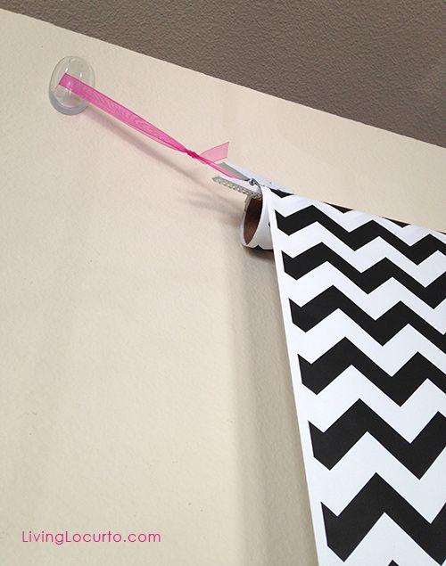 Easy homemade DIY Photo Booth Background idea @Amy Locurto | LivingLocurto.com.com