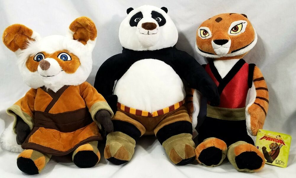 9 in.plush stuffed animals toys panda penguin pig dog mouse small dolls gifts