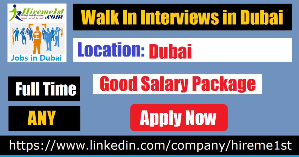 Walk In Interview in Dubai Tomorrow Today Restaurant