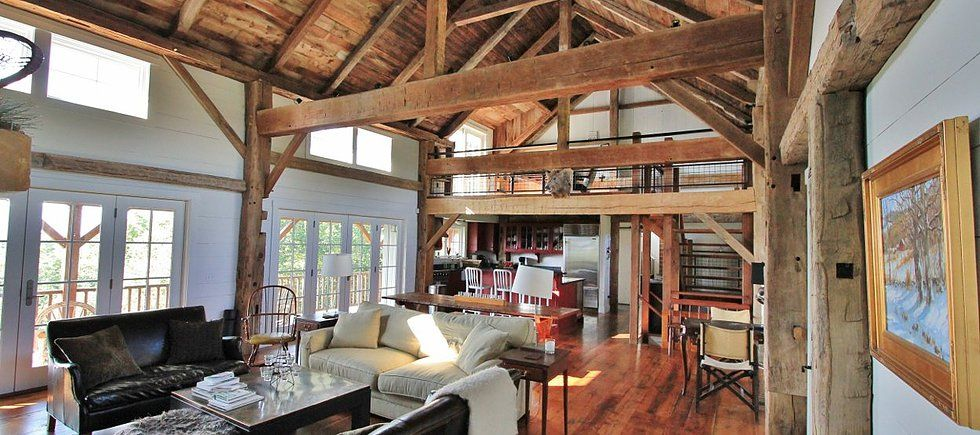 Green Mountain Timber Frames Restores Old Barns And Timber