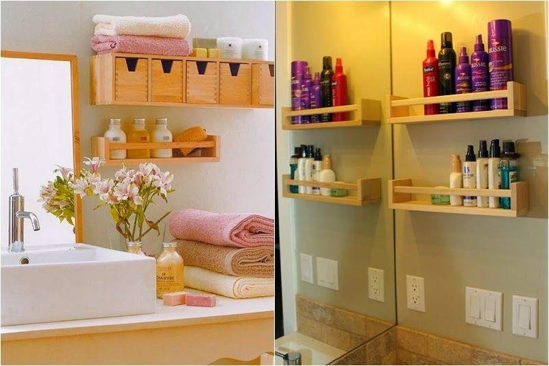 Estanter as low cost para el cuarto de ba o mant n el orden decorar tu casa es facil y ba o - Estanterias para el bano ...