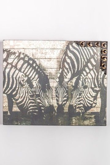 Zebras Wall Art by Chic Design: Posh Accents on @HauteLook ...