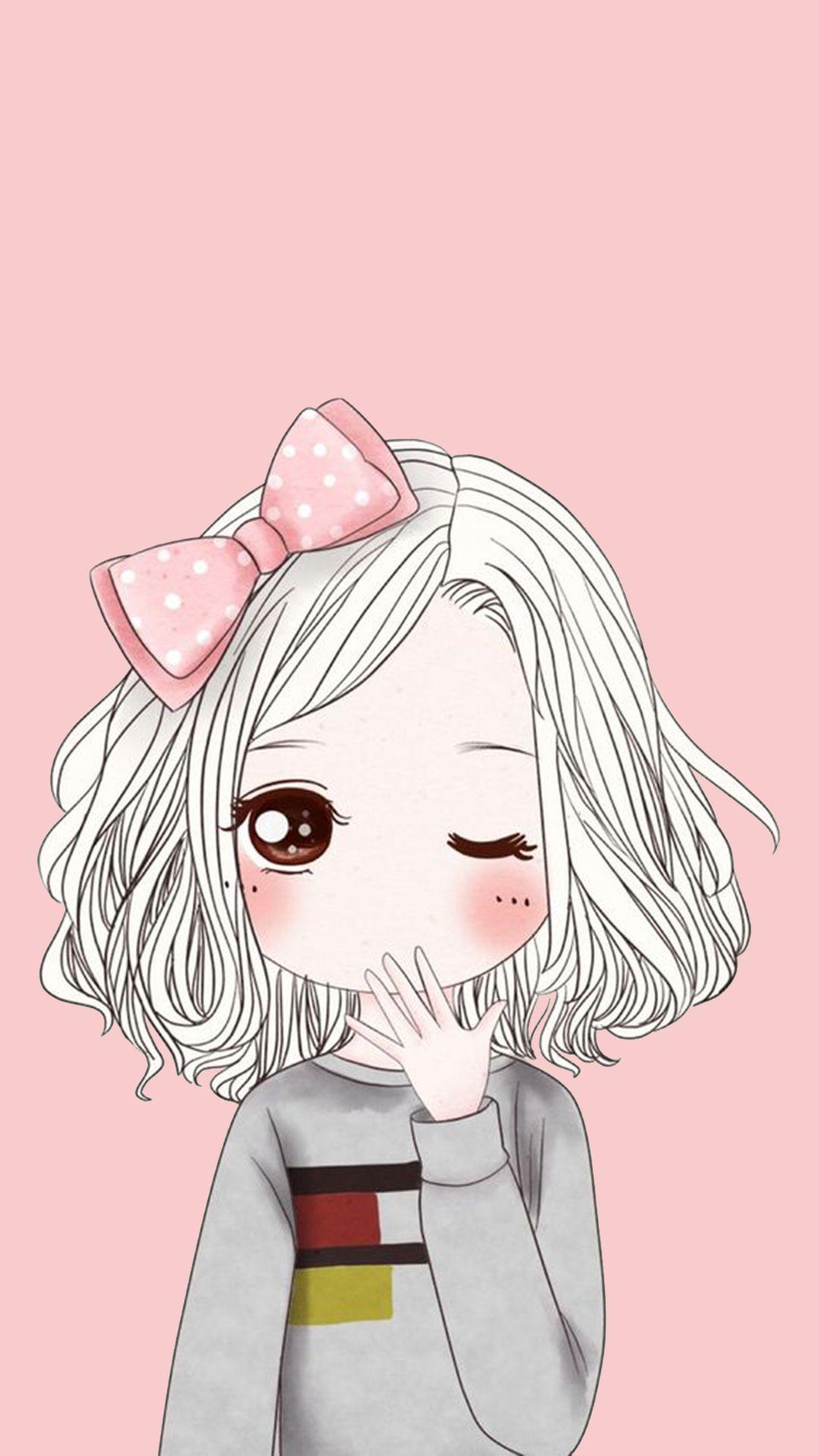 Downloaded From Girly Wallpapers Http Itunes Apple Com App Id11083753 Fondo De Pantalla De Dibujos Animados Fondo De Pantalla De Anime Dibujo De Chica Guapa