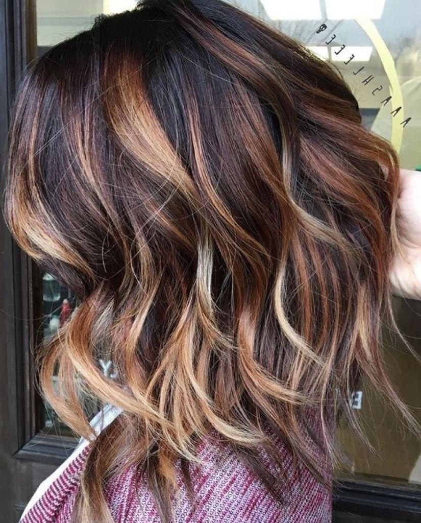 Dark Brown Hair With Caramel Balayage 3d Hair Color Best