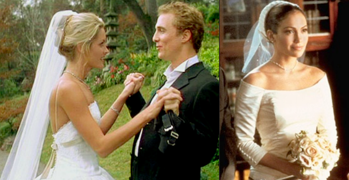 Wedding Dresses In Cinema And In