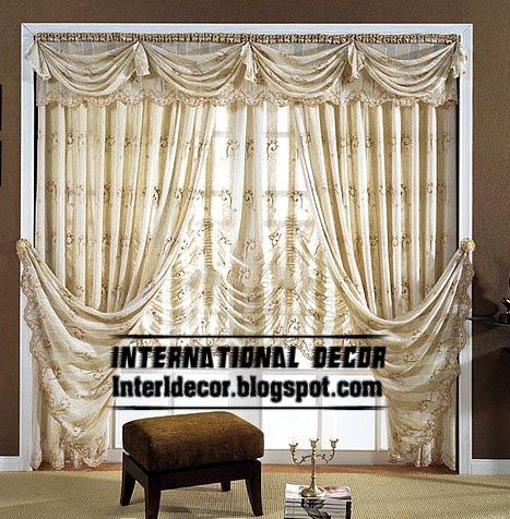Top Curtain Model And Unique Draperies With Crushed Shades Stunning Curtain Design Ideas For Living Room Review