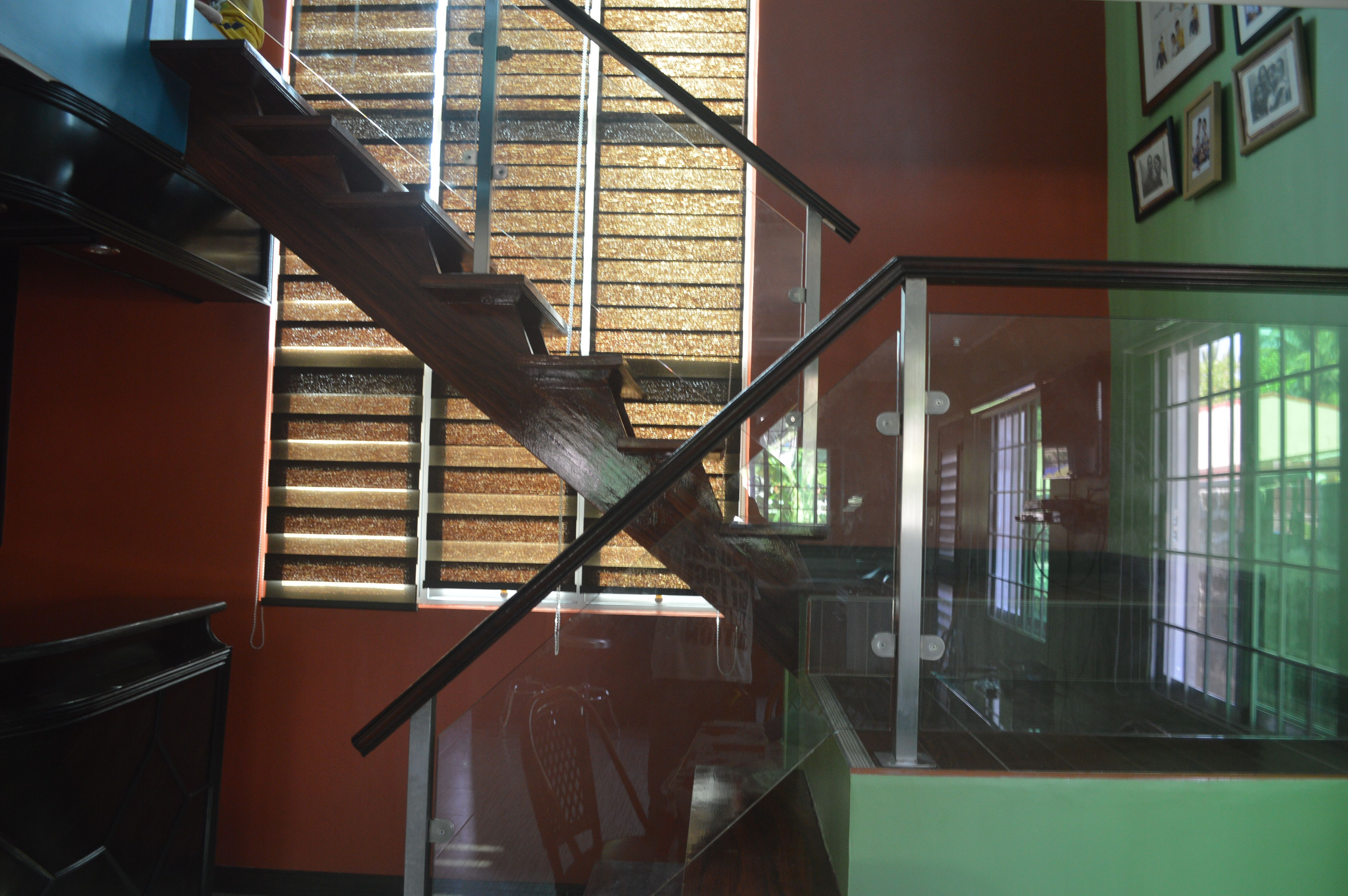 Glass Stair in Stainless Frame at Tanza, Cavite by Cavitetrail