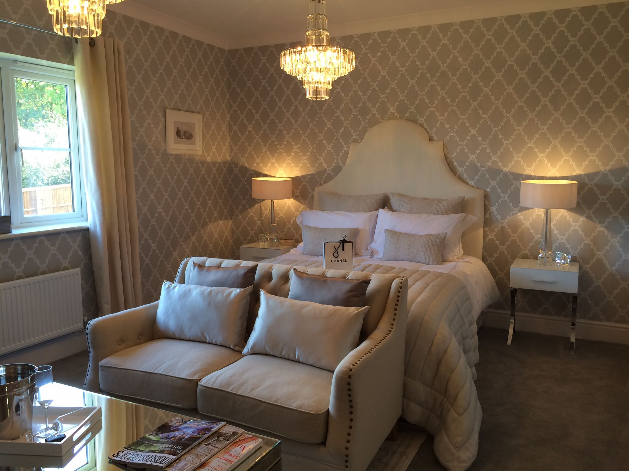 Show Home Bedroom Master Bedroom Charles Church Cuthbert Show Home Show Homes