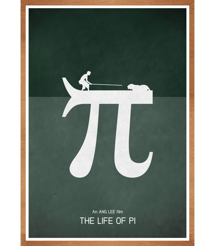 Alternative Movie Poster For The Life Of Pi By Jon Glanville