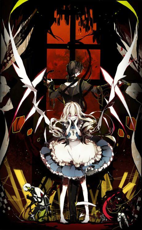 Kagerou Project - Kuroha (クロハ) & Mary (マリー) - Outer Science (アウターサイエンス)