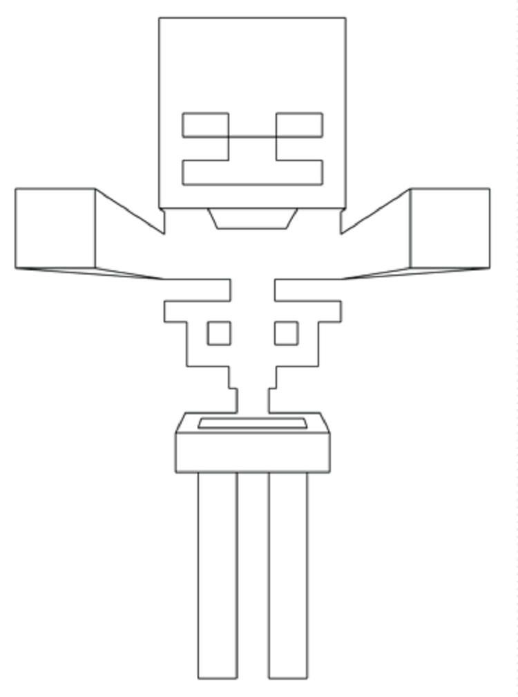 Minecraft Full Coloring Pages Skeleton Minecraft Skeleton Avengers Coloring Pages Coloring Pages