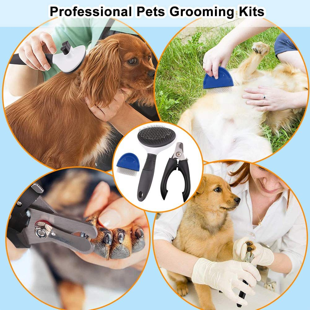 3 In 1 Dog Grooming Kit You Get 3 Itmes For The Same Price Apply 50 Off Code 50fnedkf Groomingkit Nailclipper Pet Grooming Tools Cat Fleas Dog Grooming