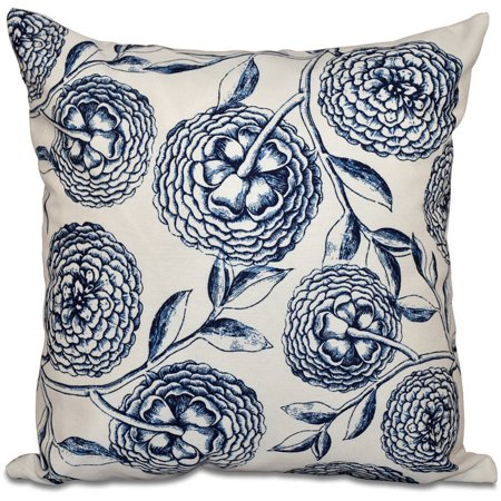 Simply Daisy 16 X 16 Antique Flowers Floral Outdoor Pillow Walmart Com In 2020 Blue Outdoor Pillows Outdoor Pillows Blue And White Pillows