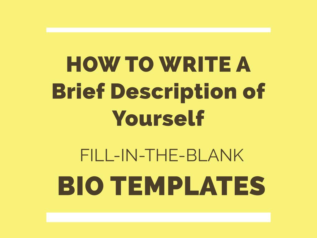 creative bio examples