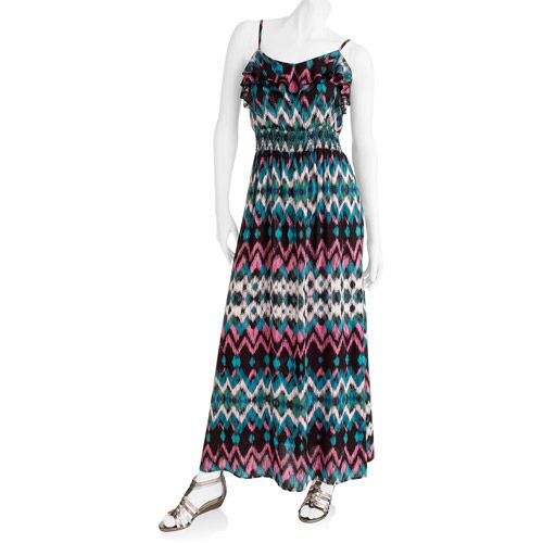 I know it's from Wal-Mart, but I really dig this maxi dress!