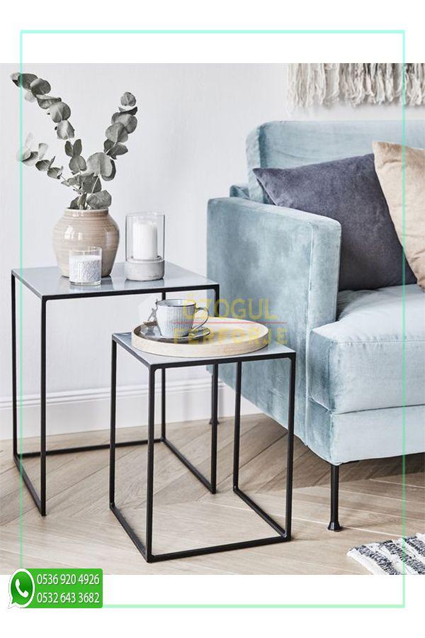 Photo of Wrought Iron Special Design Zigon Coffee Table / Wrought Iron Special Design Zigon