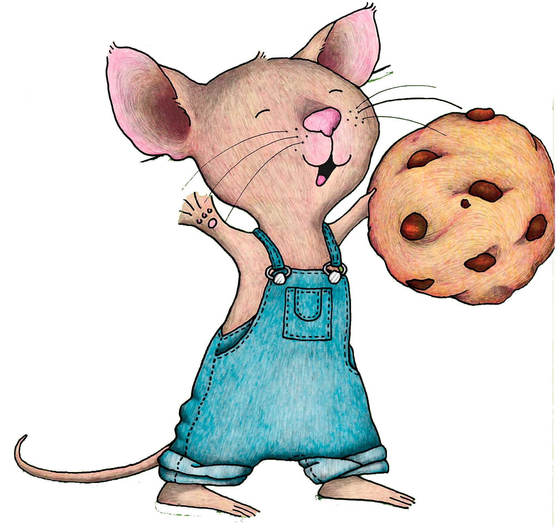 If You Give A Mouse A Cookie Mouse A Cookie Cookie Drawing