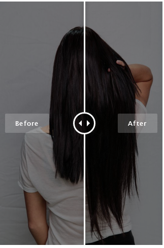 Before and after using bellami hair extensions in off black 1b before and after using bellami hair extensions in off black 1b bellamihair pmusecretfo Images