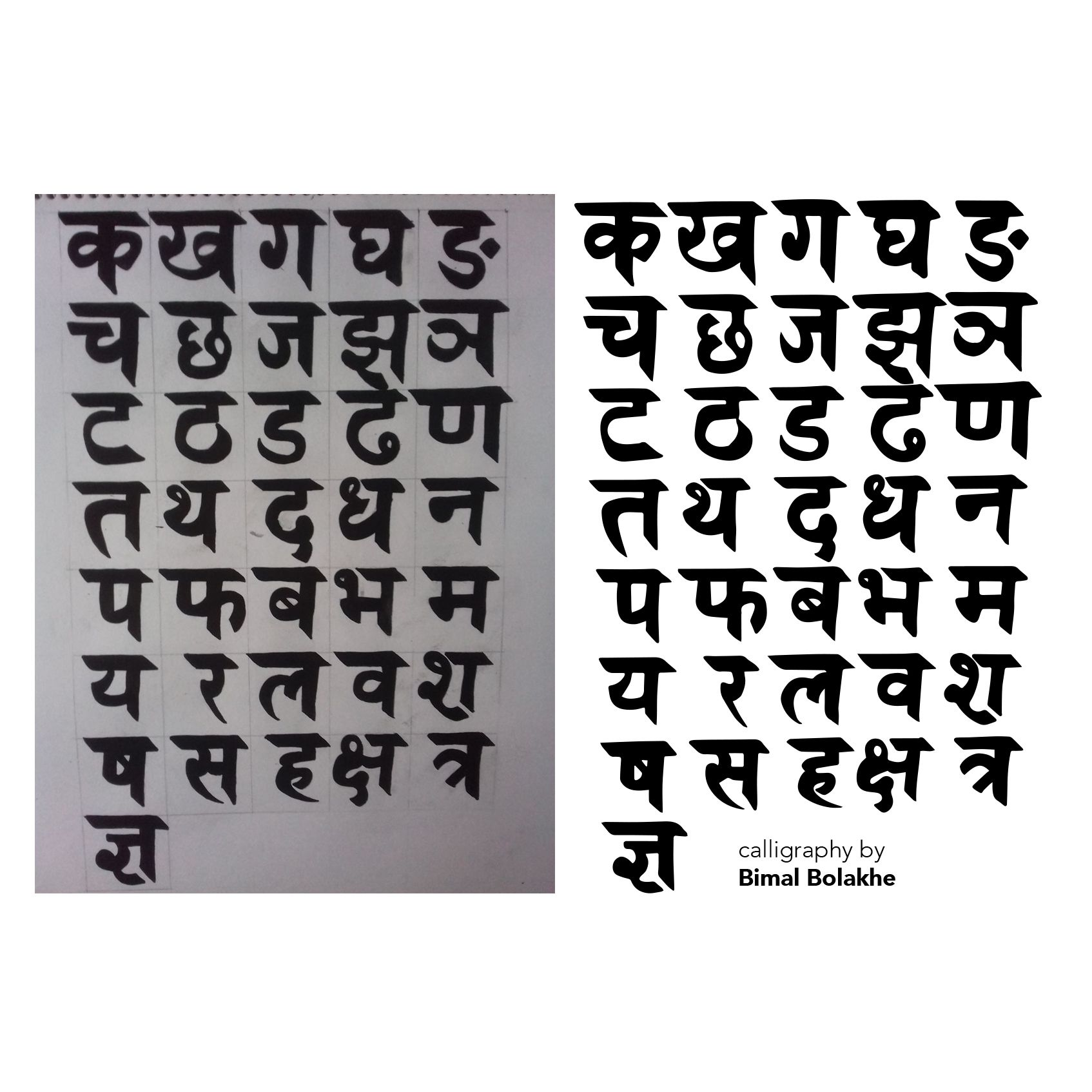 Pin by Nina Rodriquez on Hindi fonts | New work, Working on myself, Art