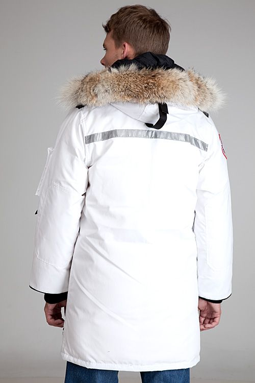 Canada Goose Resolute White Parka