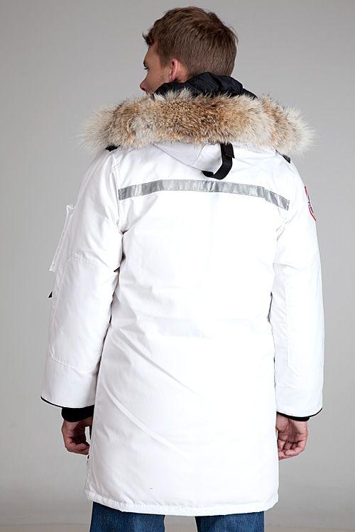 f016d0cfa7f21 Canada Goose Resolute White Parka in White for Men | Lyst | Parkas ...