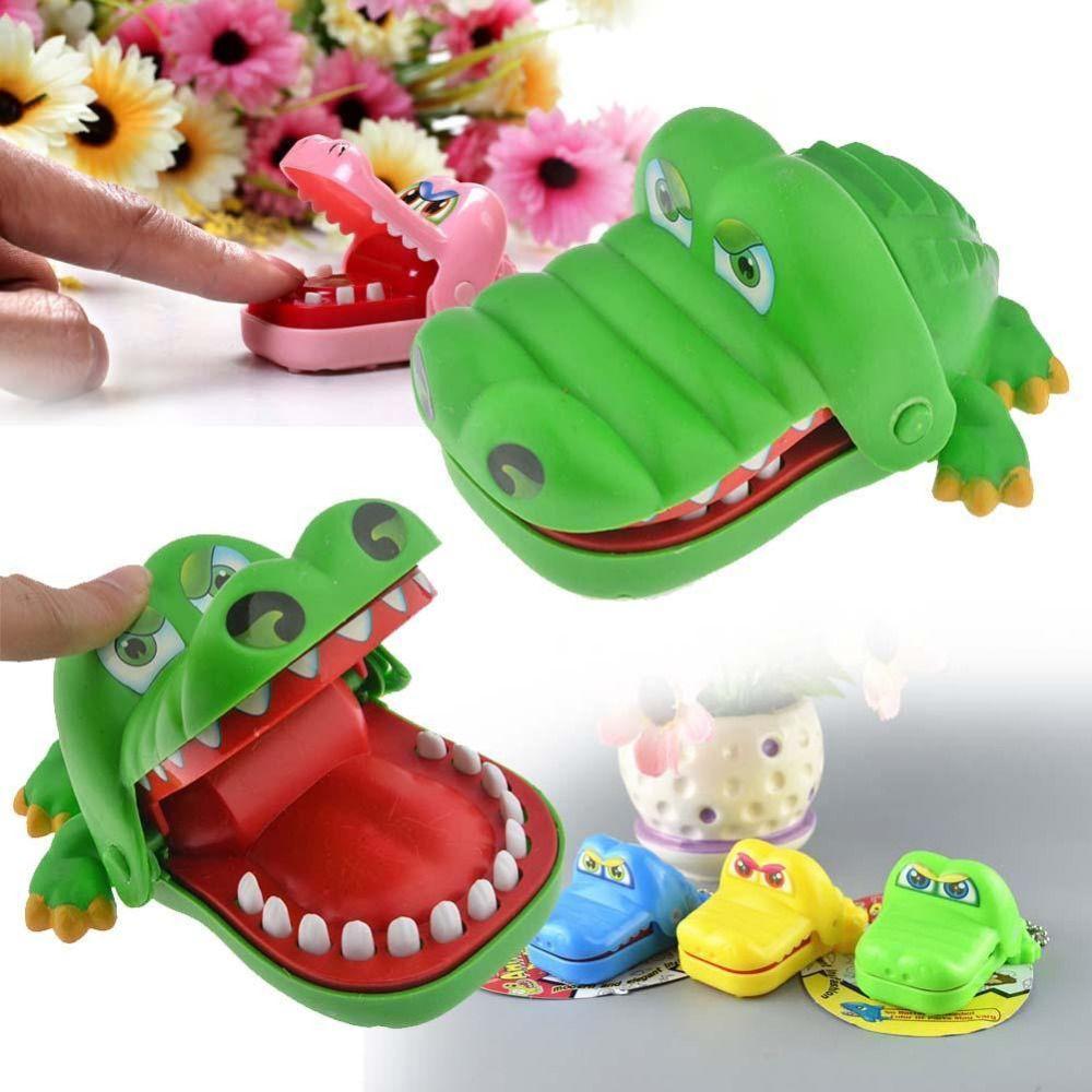 58af7e736 التمساح الفم طبيب الأسنان لدغة فنجر لعبة مضحكة لعبة مضحك الجدة الكمامة لعبة  لل أطفال الأطفال الكبار متعة هدايا