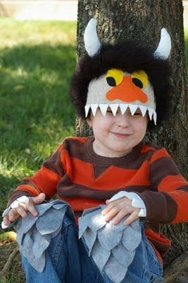 where the wild things are monster mask halloween costume hat moishecarol - Max Halloween Costume Where The Wild Things Are