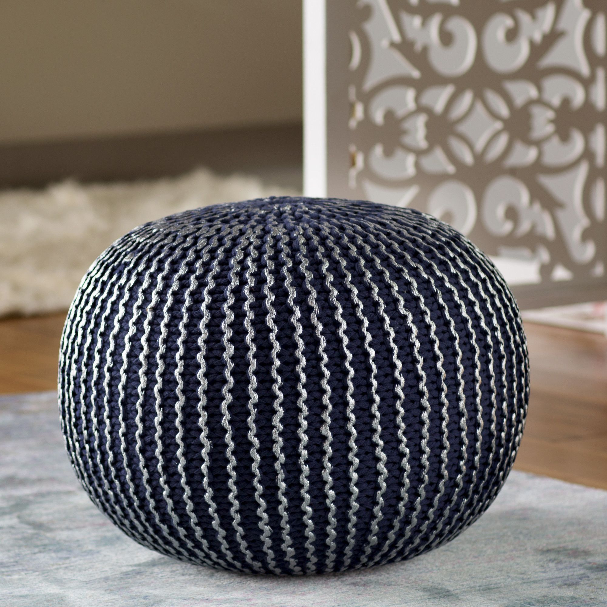 knowlton pouf  ottomans modern and pouf ottoman - you'll love the amskroud modern pouf ottoman at allmodern  with greatdeals on modern living products and free shipping on most stuff even thebig stuff