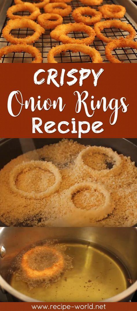 Crispy Onion Rings Recipe - How To Make Crispy Onion Rings