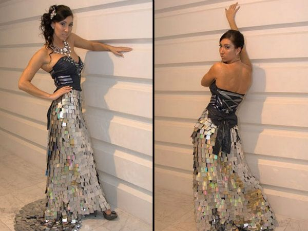 Imagenes de vestidos reciclados modernos