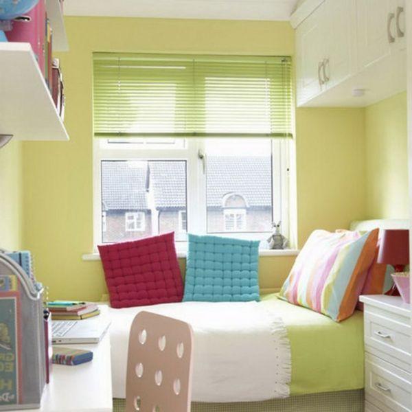 Das Schlafzimmer komplett gestalten grüne gelbe blau rot farben ...