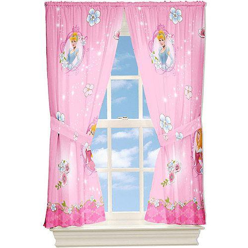 Princess Girls Room Valance Cutains Amazom: Disney Princess Curtain Panels - Walmart.com