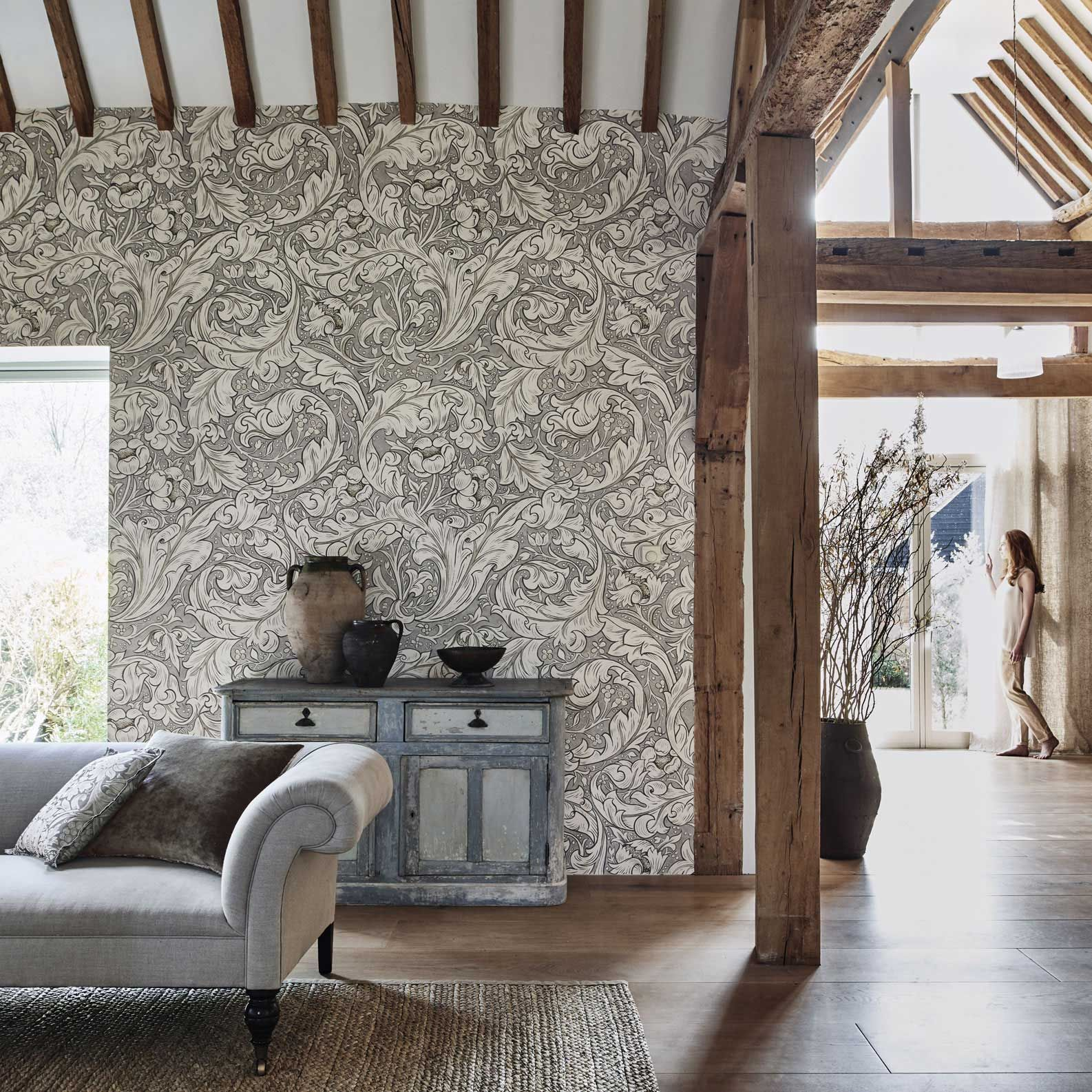 The Original Morris & Co Arts and crafts fabrics and wallpaper