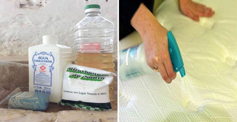 Como Limpiar El Colchon Y Sacar Las Manchas Paso A Paso En 2020
