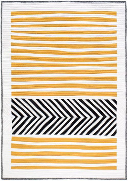 Stripes and Herringbone Quilt – Free Quilt Pattern | Love to Sew