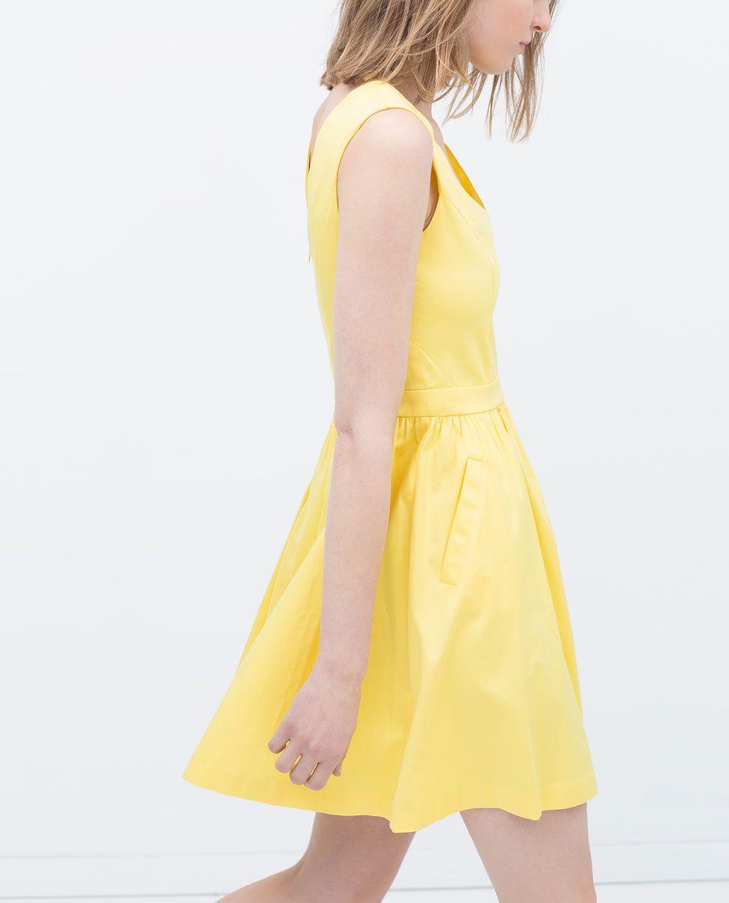 Zara mujer vestidos y faldas