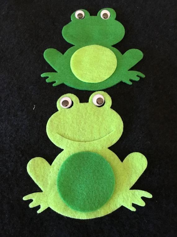 Filz Frosch Craft Kits-DIY-Kits für Partys und Schule-Boy | Etsy