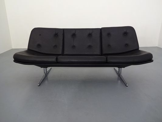 Vintage German Sofa 1960s In 2020 Vintage German Leatherette Vintage