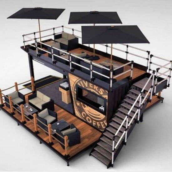 Modern Portable Restaurant Buildings Prefab Shipping Container House New - China Shipping Container House, Ready Made House   Made-in-China.com