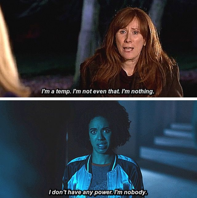 Romantic Doctor Who Quotes: Donna Noble And Bill Potts Parallels