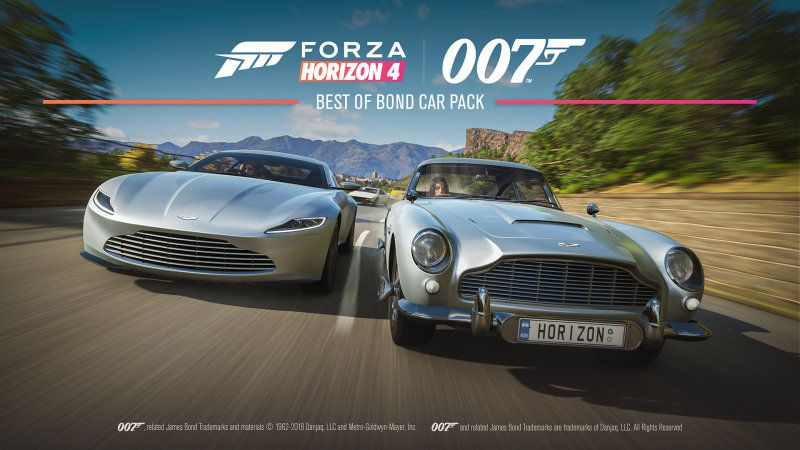 Forza Horizon 4 Features James Bond S Best Rides With Images