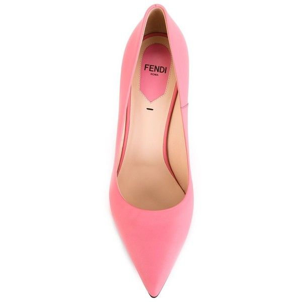 fendi pink heels