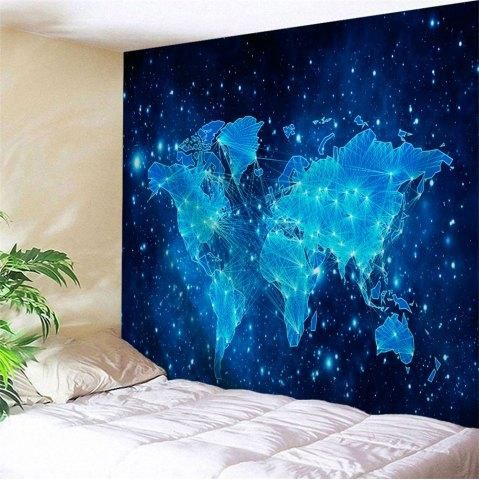 Rosegal rosegal galaxy world map print tapestry wall hanging rosegal rosegal galaxy world map print tapestry wall hanging art decoration adorewe gumiabroncs Images