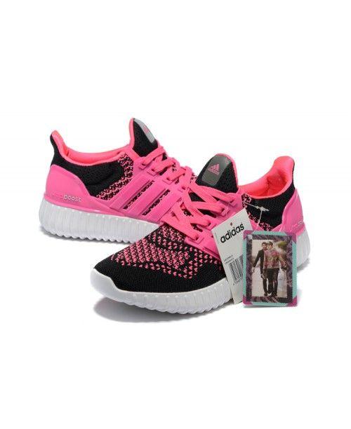 yeezy ultra impulso 350 donne adidas super rosa rosa - nero