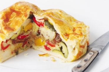 deli vegetable pie
