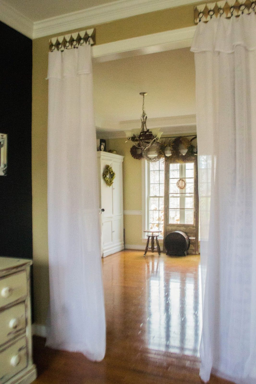Make a Curtain Hook Board Diy curtain rods, Curtains